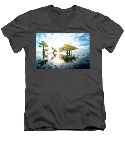 Birth Of Morning Men's V-Neck T-Shirt