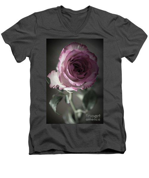Birthday Rose Men's V-Neck T-Shirt