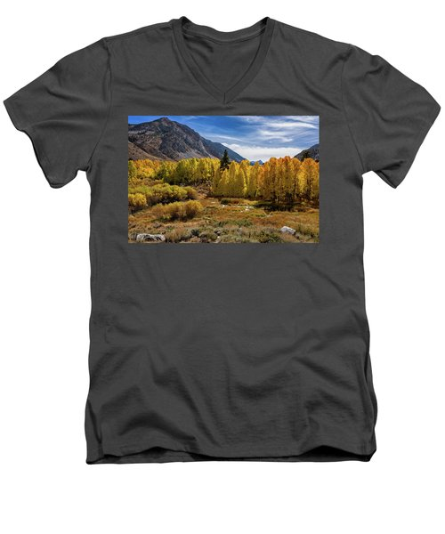 Bishop Creek Aspen Men's V-Neck T-Shirt