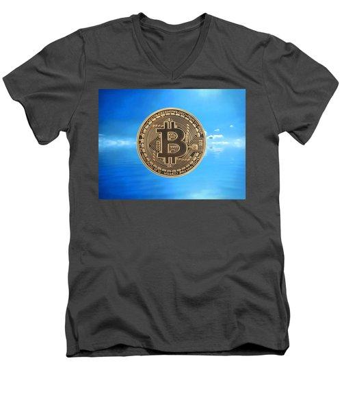 Bitcoin Revolution Men's V-Neck T-Shirt