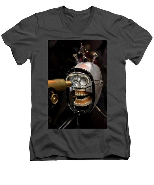 Bite The Bullet - Steampunk Men's V-Neck T-Shirt