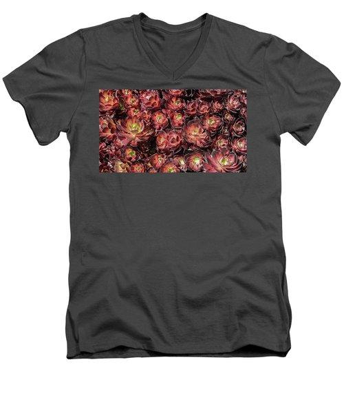 Black Roses Men's V-Neck T-Shirt
