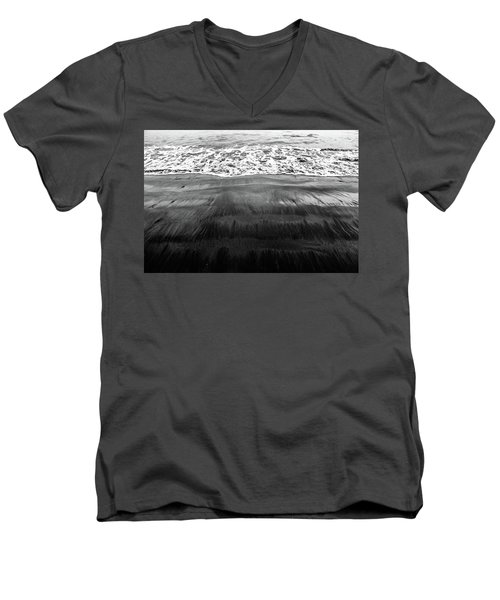 Black Sands  Men's V-Neck T-Shirt