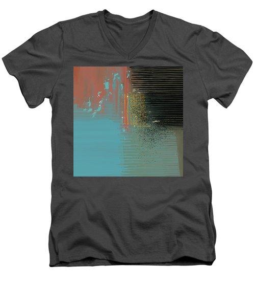 Black Splash Men's V-Neck T-Shirt
