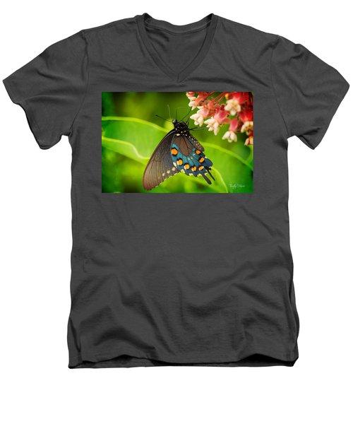 Black Swallowtail #1 Men's V-Neck T-Shirt