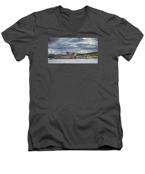 Blackness Castle Men's V-Neck T-Shirt