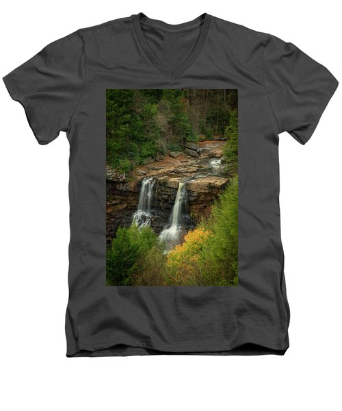 Blackwater Falls Men's V-Neck T-Shirt