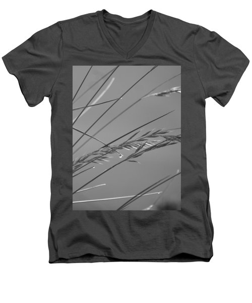 Blades Of Gray Men's V-Neck T-Shirt
