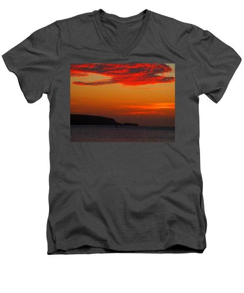 Blaze Men's V-Neck T-Shirt