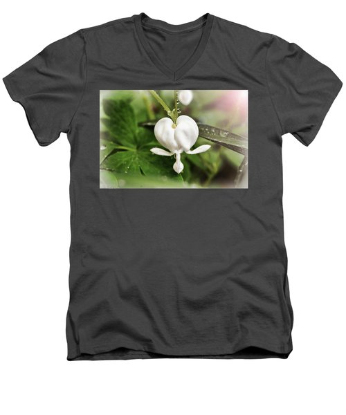Bleeding Heart Men's V-Neck T-Shirt