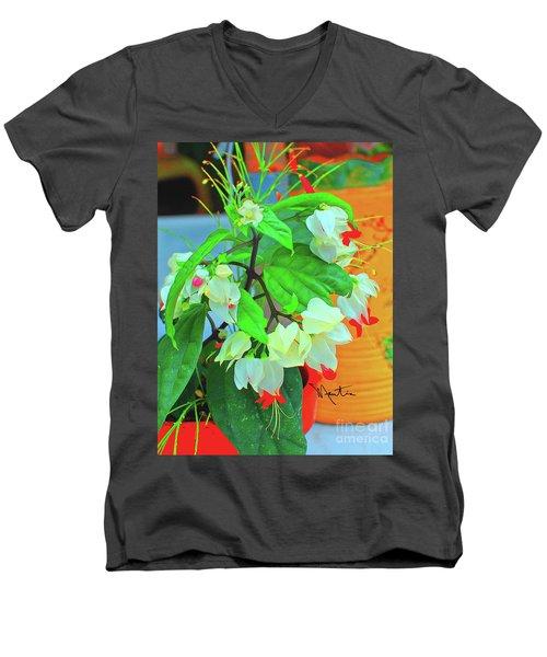 Bleeding Heart II Men's V-Neck T-Shirt