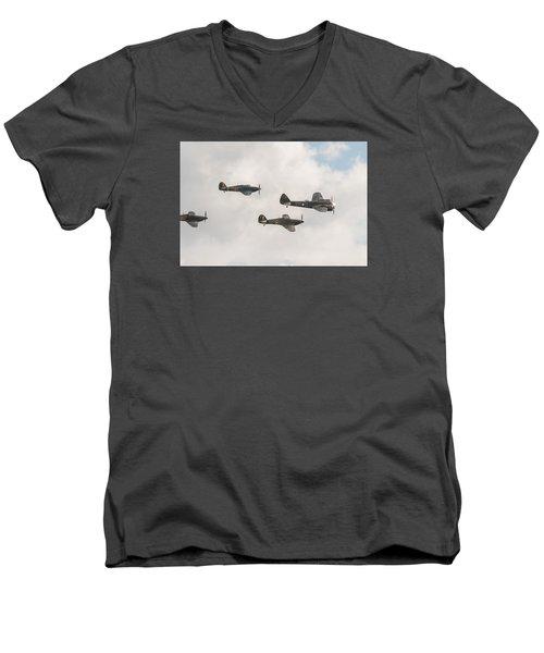 Blenheim And Hurricanes Men's V-Neck T-Shirt