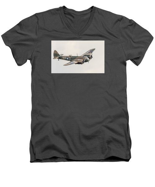Blenheim Mk I Men's V-Neck T-Shirt by Gary Eason