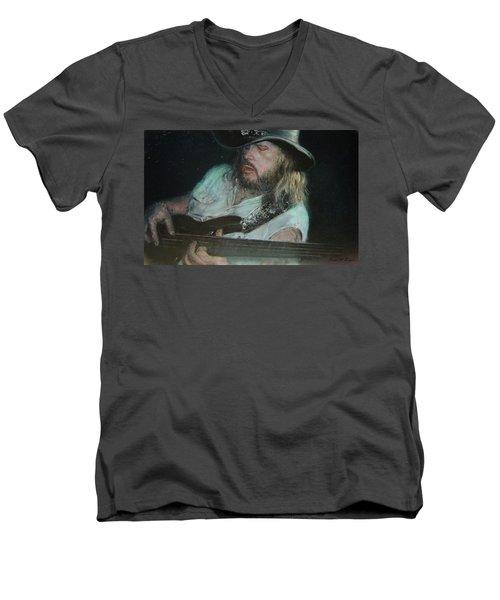 Blues Traveler Men's V-Neck T-Shirt