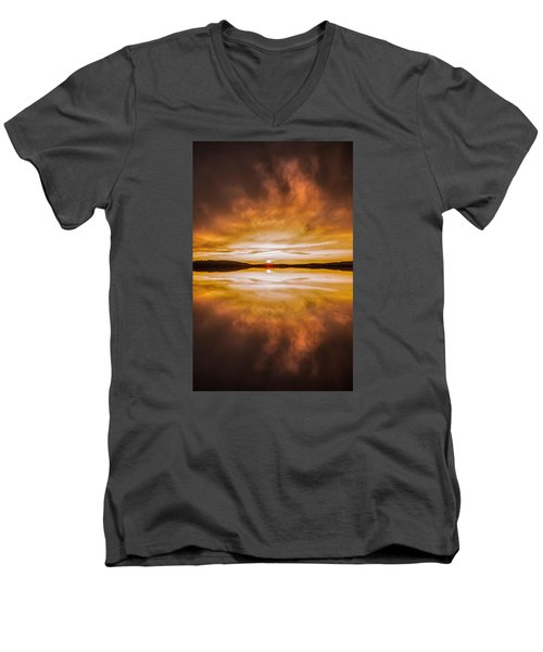 blessed Sight Men's V-Neck T-Shirt by Rose-Maries Pictures