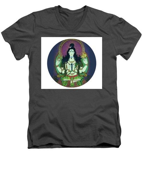 Blessing Shiva Men's V-Neck T-Shirt