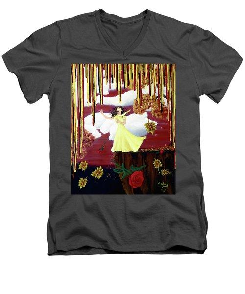 Blinded By Love Men's V-Neck T-Shirt