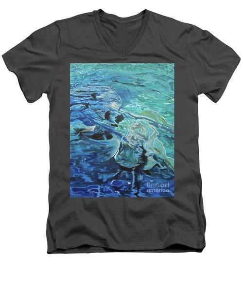 Bliss Men's V-Neck T-Shirt by Stuart Engel