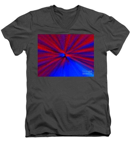 Block Zoom Men's V-Neck T-Shirt