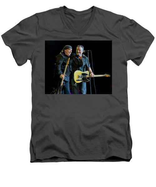 Men's V-Neck T-Shirt featuring the photograph Blood Brothers by Jeff Ross