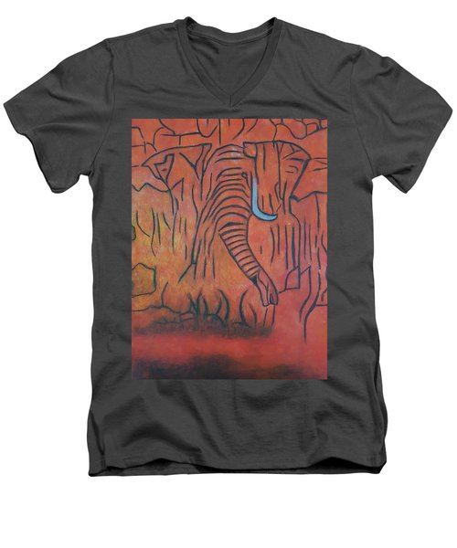 Blood Ivory Men's V-Neck T-Shirt