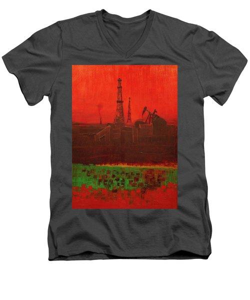 Blood Of Mother Earth Men's V-Neck T-Shirt