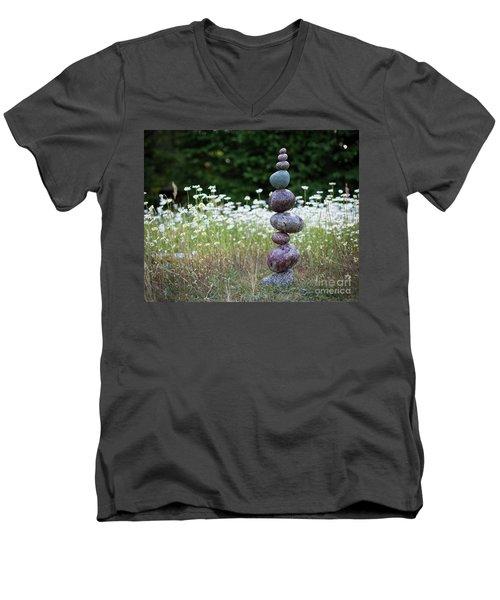 Bloom Men's V-Neck T-Shirt