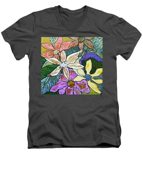 Blooms Men's V-Neck T-Shirt