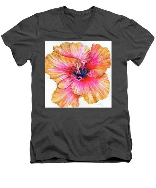 Blossomed Men's V-Neck T-Shirt