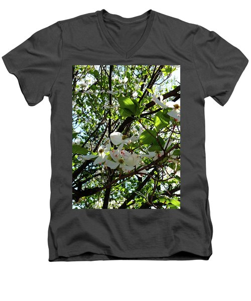 Blossoms 2 Men's V-Neck T-Shirt