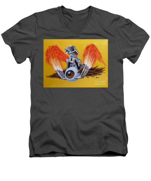 Blown Eyeball Men's V-Neck T-Shirt