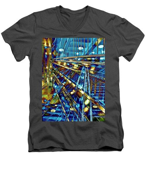 Blue Berlin Sound Men's V-Neck T-Shirt
