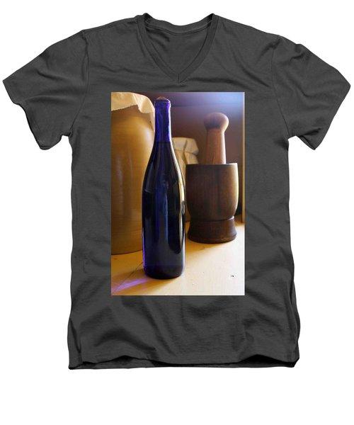 Blue Bottle And Mortar Men's V-Neck T-Shirt