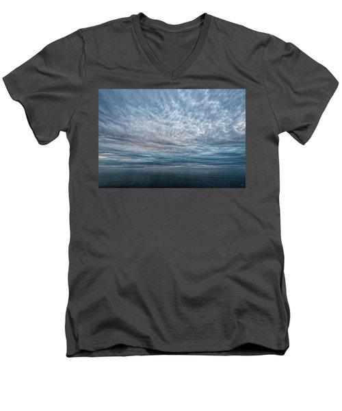 Blue Calm Men's V-Neck T-Shirt