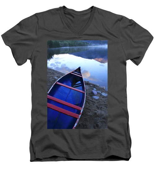 Blue Canoe Men's V-Neck T-Shirt