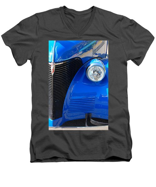 Blue Chevy Men's V-Neck T-Shirt