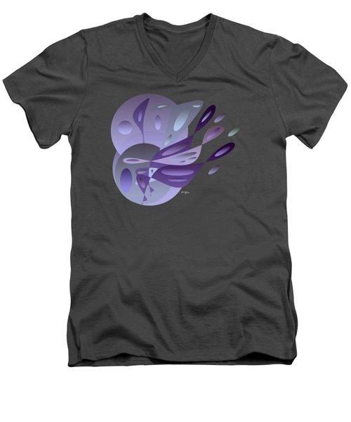 Blue Dreams Men's V-Neck T-Shirt