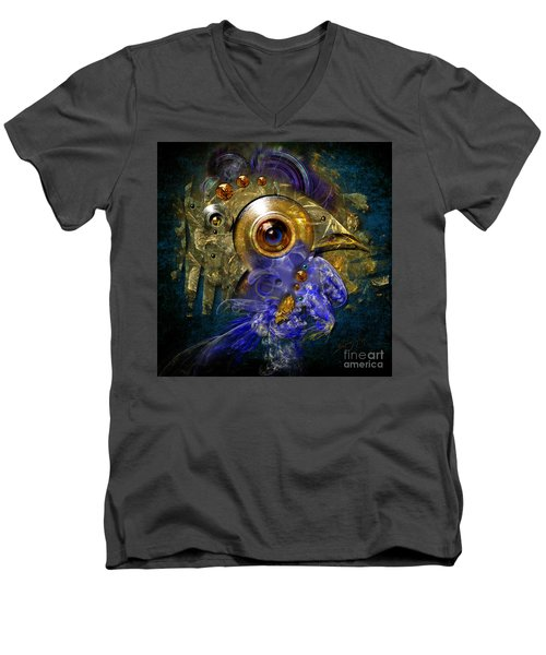 Blue Eyed Bird Men's V-Neck T-Shirt