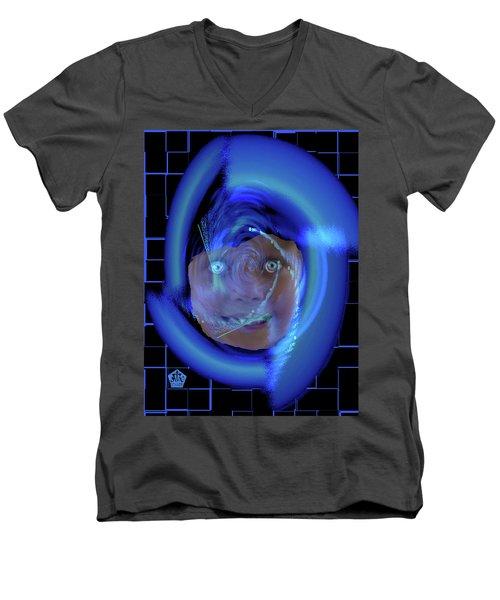 Blue Eyed Girl Men's V-Neck T-Shirt