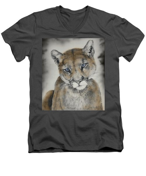 Blue Eyes Men's V-Neck T-Shirt