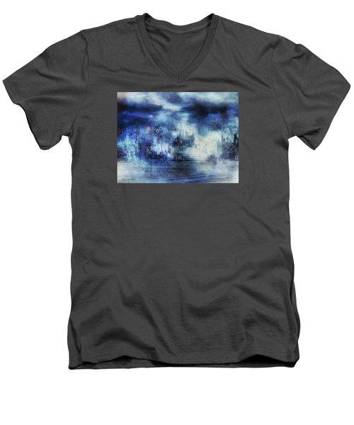 Blue Fog Men's V-Neck T-Shirt