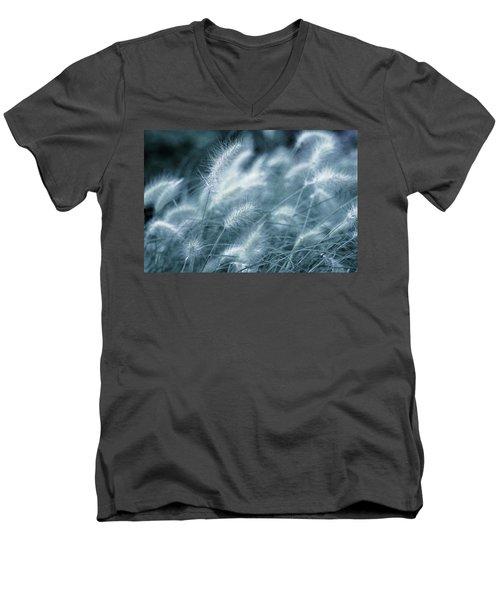 Blue Gras Men's V-Neck T-Shirt