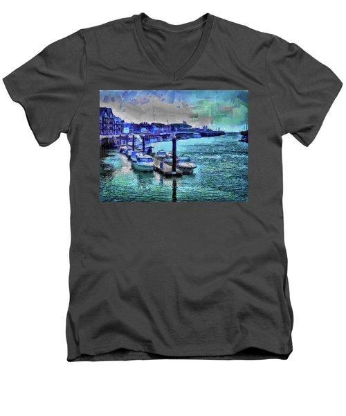 Blue Harbour Men's V-Neck T-Shirt