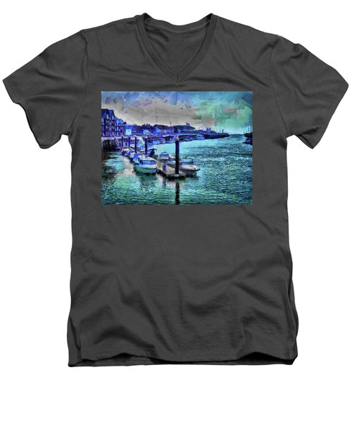 Blue Harbour Men's V-Neck T-Shirt