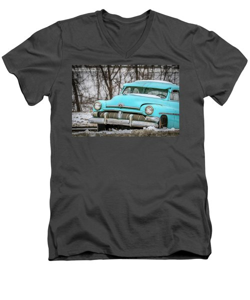 Blue Mercury Men's V-Neck T-Shirt