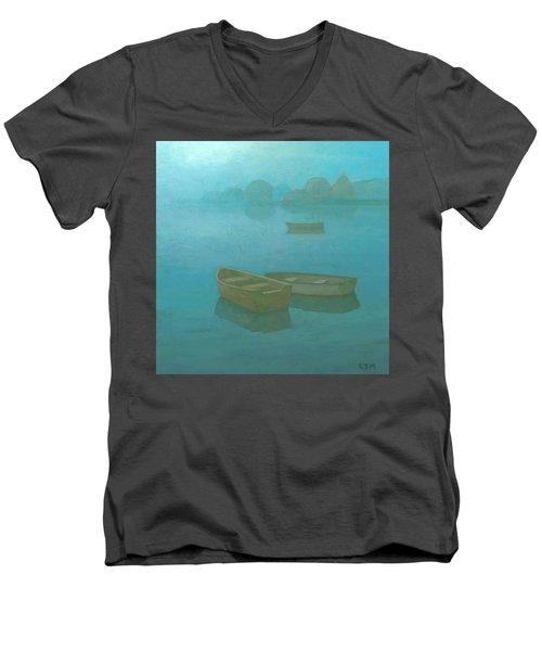 Blue Mist Men's V-Neck T-Shirt