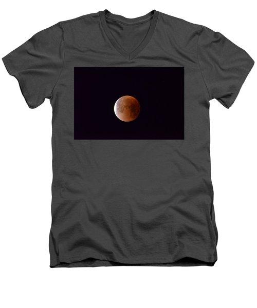 Blue Moon 1-31-18 Men's V-Neck T-Shirt