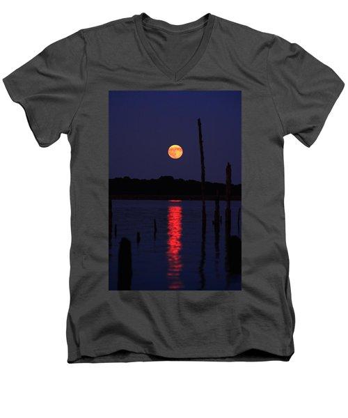 Blue Moon Men's V-Neck T-Shirt
