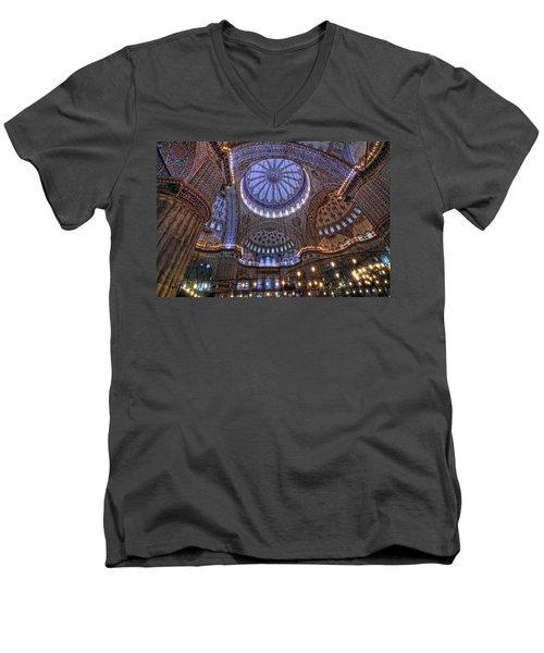 Blue Mosque Men's V-Neck T-Shirt