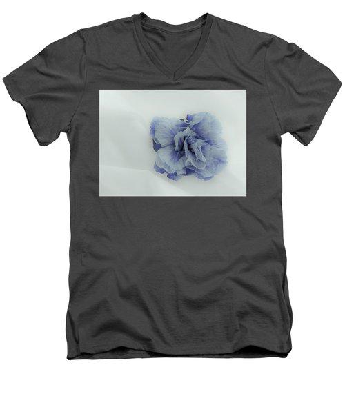 Blue On Blue Men's V-Neck T-Shirt